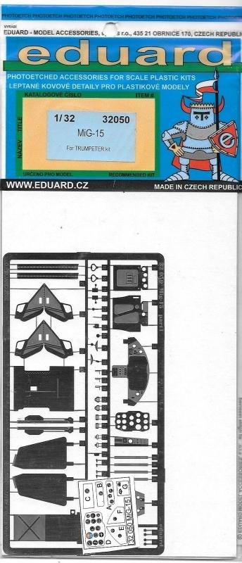 EDUARD 32050 Set for MiG-15 (Trumpeter)