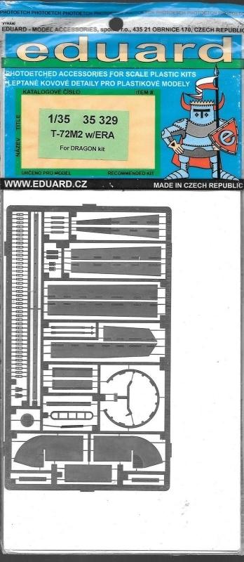 EDUARD 35329 Set for T-72M2 with ERA (Dragon)