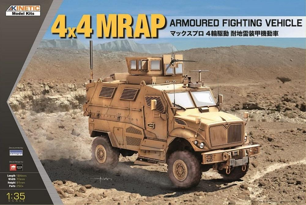 KINETIC 61011 MRAP 4x4 Armoured Fighting Vehicle