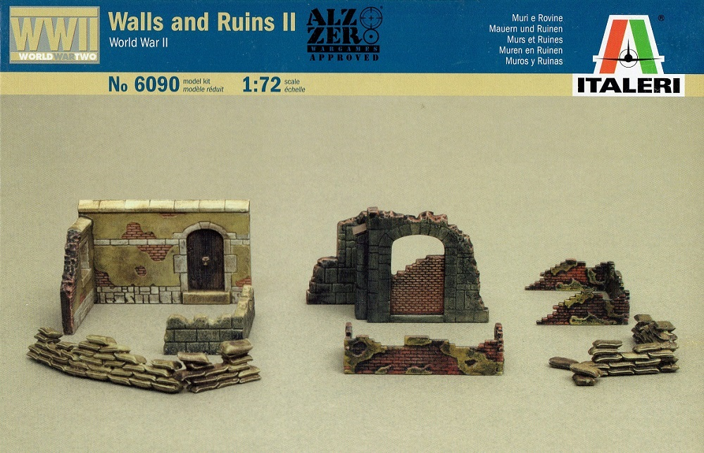ITALERI 6090 Walls and Ruins II