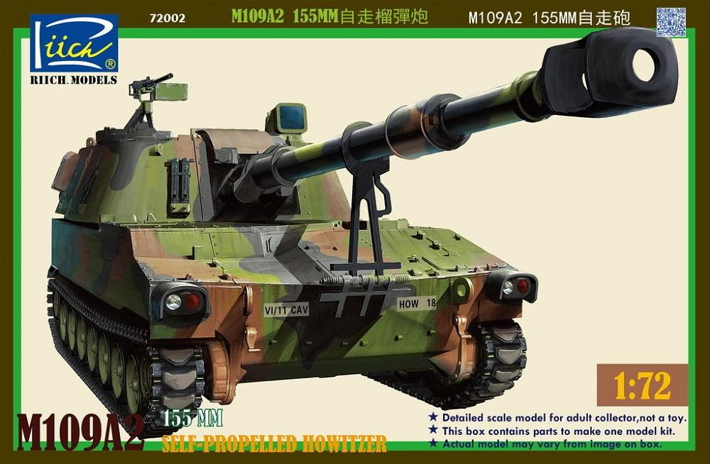 RIICH MODELS RT72002 U.S. Self-Propelled Howitzer M109A2 'Paladin'