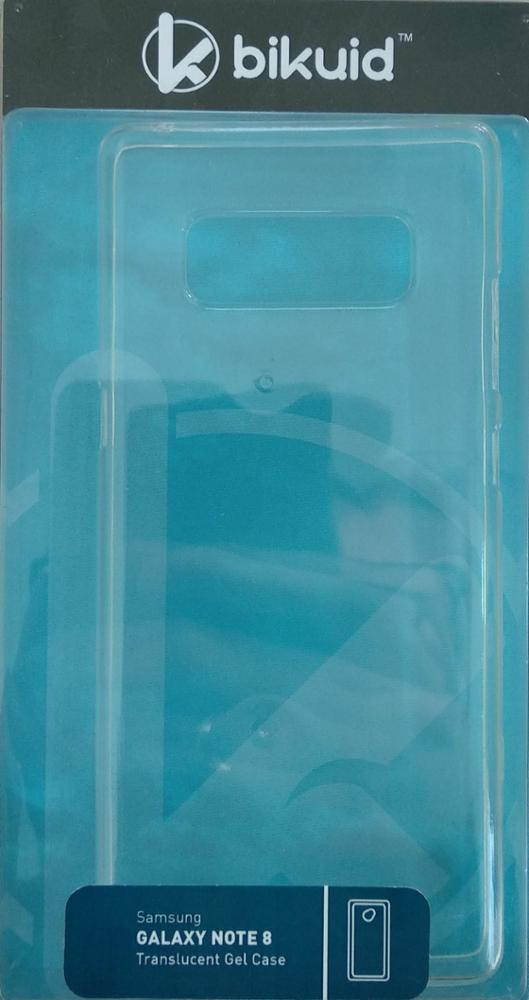 Bikuid Funda Gel Case Samsung Note 8 Transparente