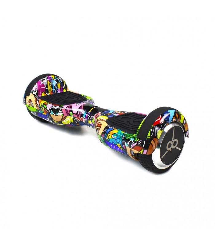 K6 SKATEFLASH HIP HOP - HOVERBOARD - GRAFITI
