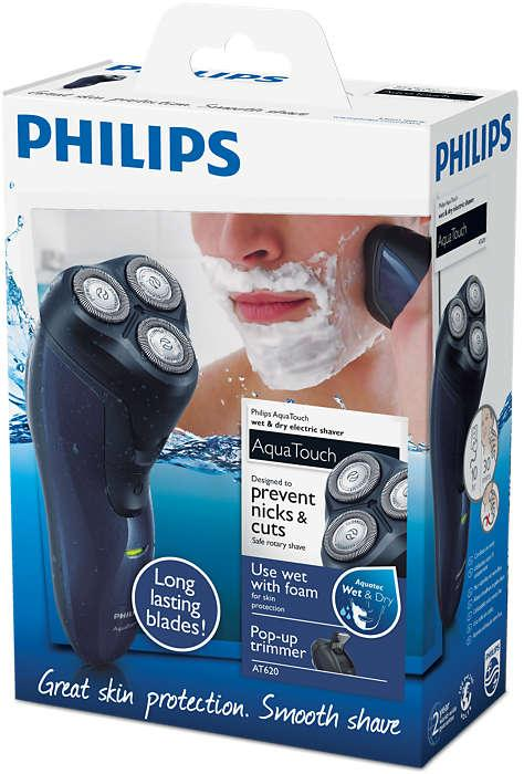 PHILIPS AFEITADORA AT620/14 WET AND DRY