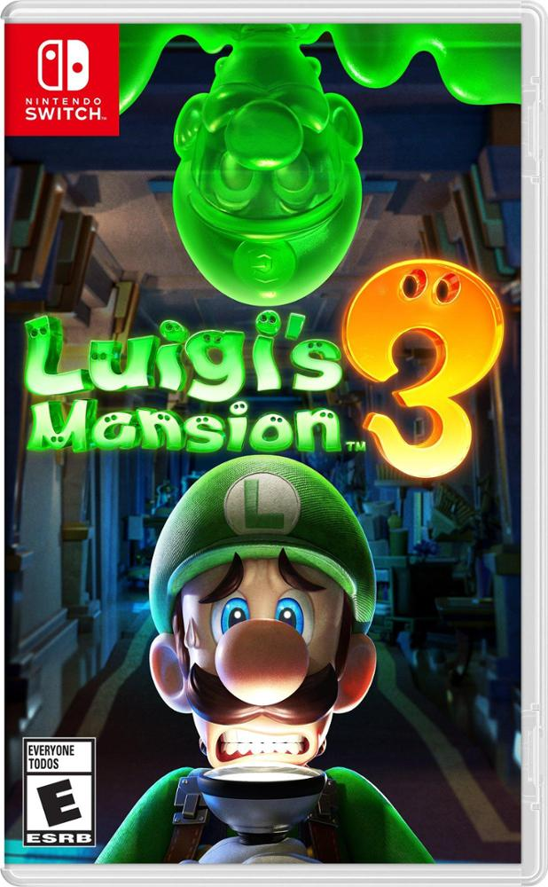 NINTENDO LUIGI'S MANSION 3