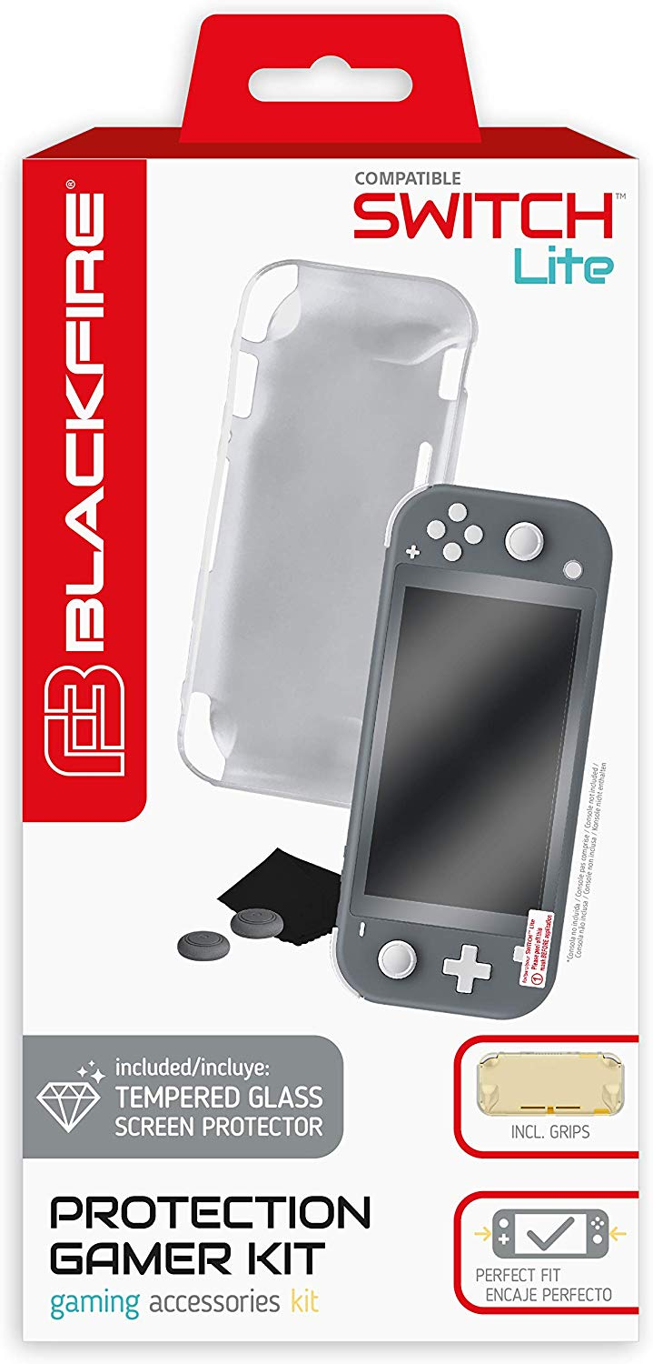 BLACKFIRE PROTECTION GAMER KIT - SWITCH LITE
