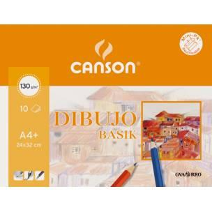 CANSON MINI PACK BASIC 21X29,7 130G CANSON