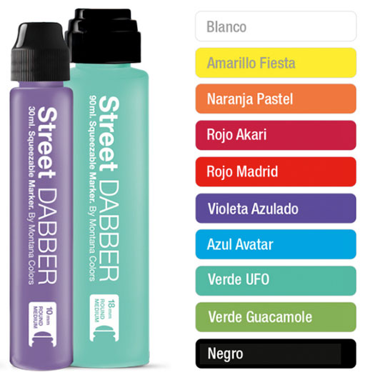 MONTANA Street DABBER - PAINT 30ML