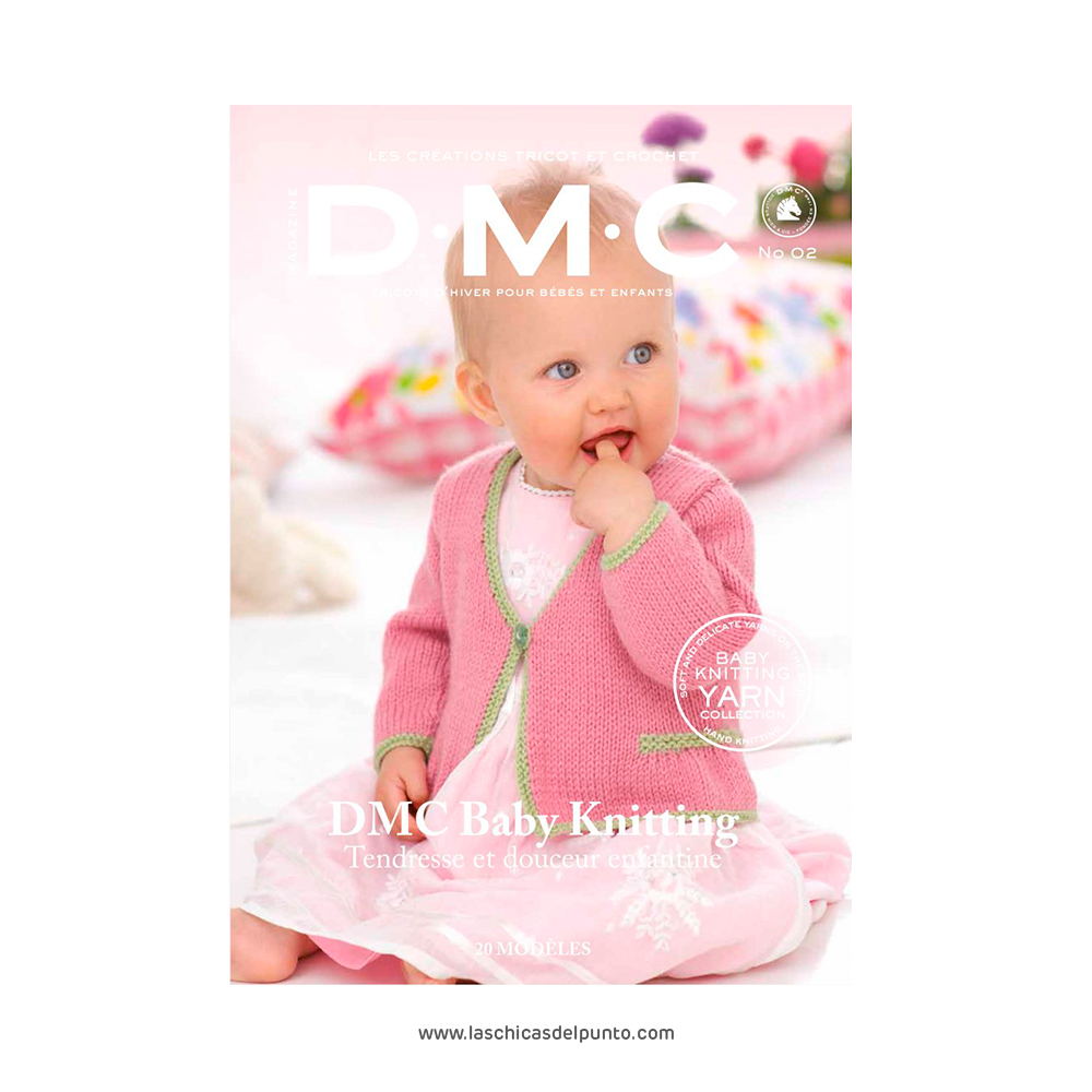 DMC Revista Baby knitting tricot