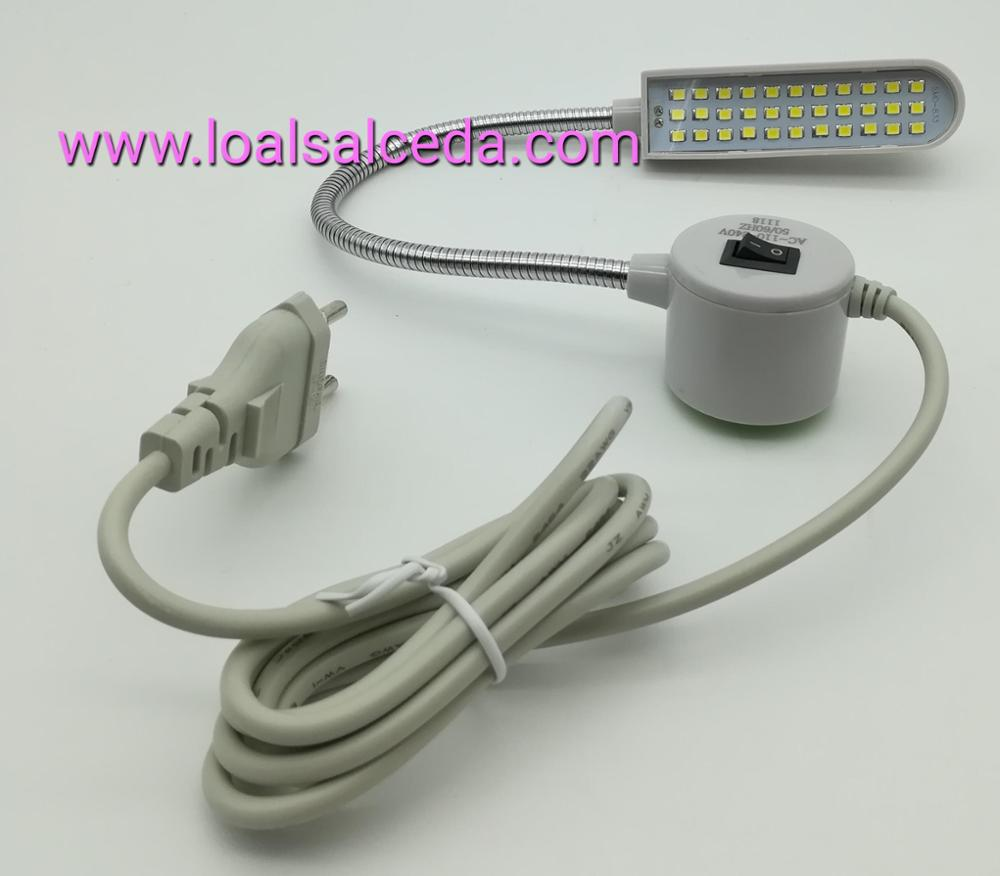 lampara led iman 33 leds, lampara led maquina de coser, lampara led iman