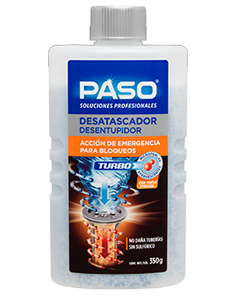 Paso Desatascador Turbo Microperlas