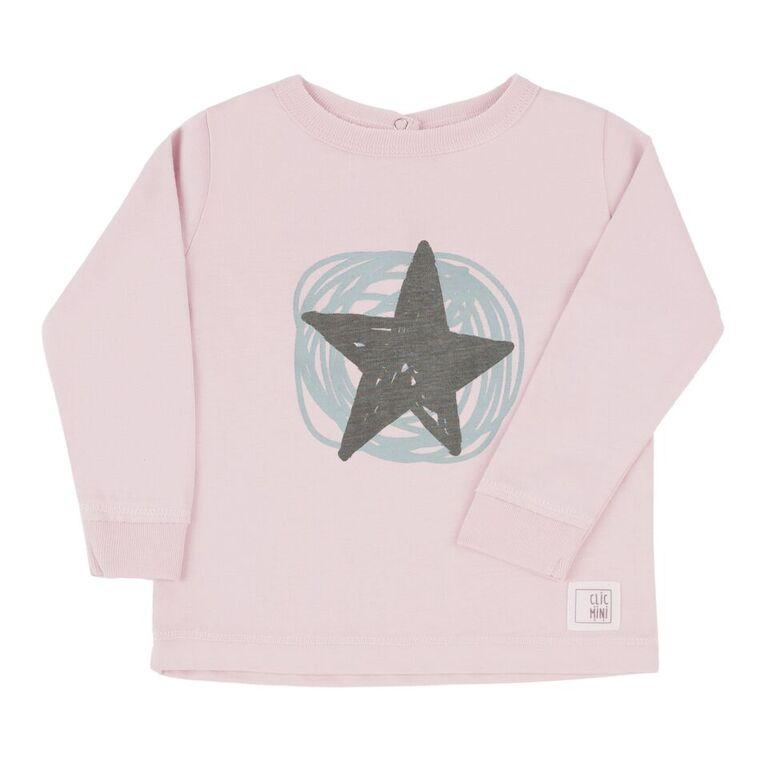 Big Star Rosa Camiseta