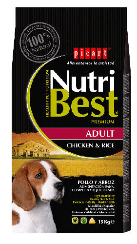 Picart Nutribest Adulto Pollo y arroz