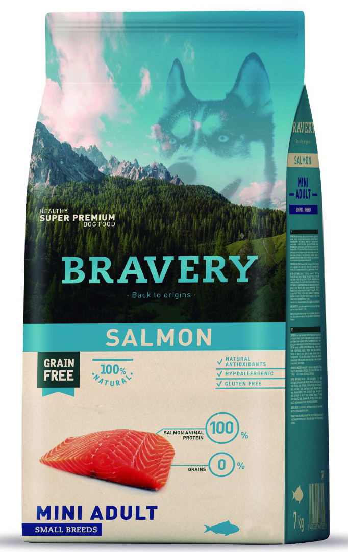 BRAVERY Adulto Mini Salmón