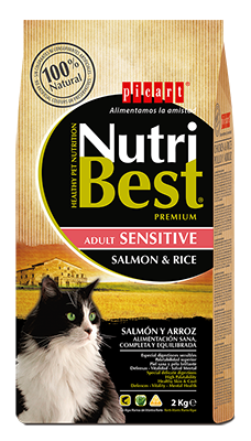 Picart Nutribest Gato Adulto Sensitive Salmón y Arroz
