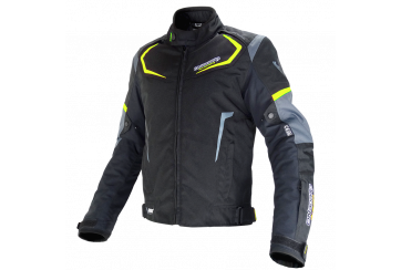 ON BOARD Chaqueta Dynamic Negro Gris Fluor