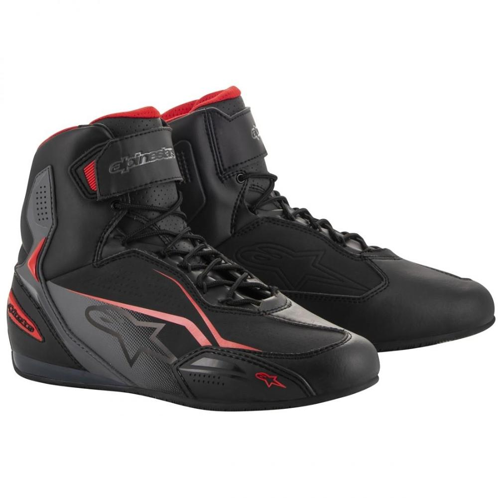 ALPINESTARS Botas Faster-3 Blak Grey Red
