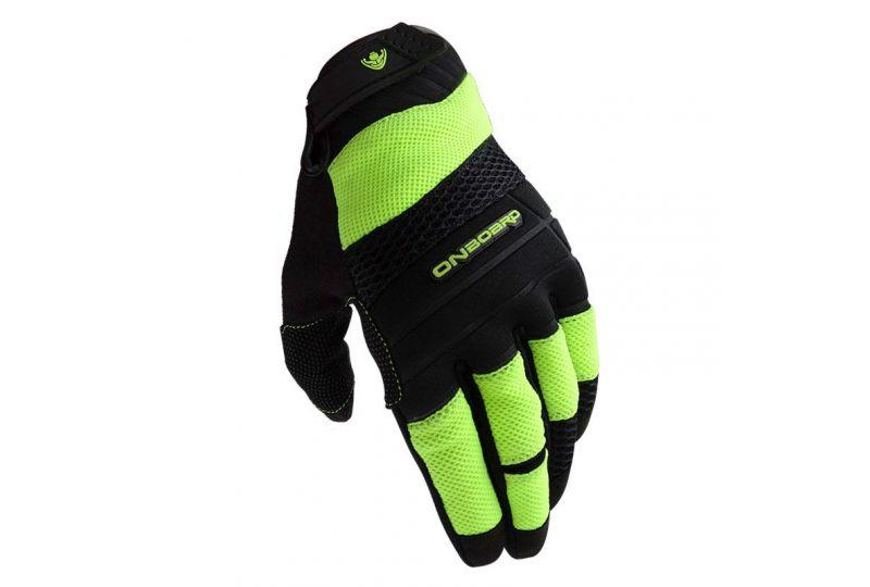 ON BOARD Guantes ON AIR negro/amarillo fluor