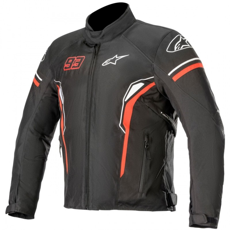 ALPINESTARS SEPANG WP BLACK RED WHITE mm93