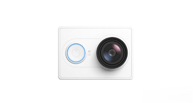 XIAOMI YI Action Videocámara Deportiva 16MP Full HD 1080p Version Europea Blanco