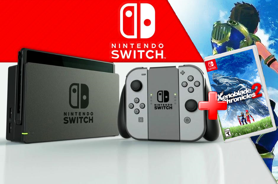 Nintendo Videoconsola Nintendo Switch + Juego Xenoblade Chronicles 2