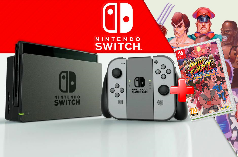 Nintendo Videoconsola Nintendo Switch + Juego Street Fighter
