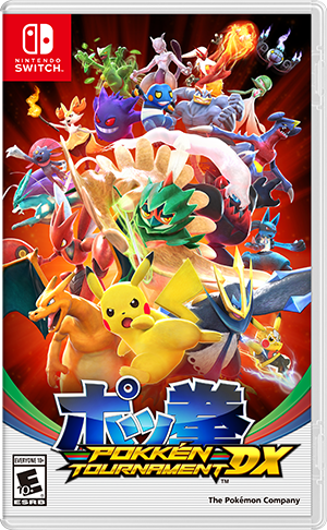 Nintendo Pokken Tournament DX para Nintendo Switch