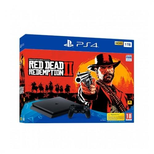 SONY PS4 1TB + RED DEAD REDEMPTION 2