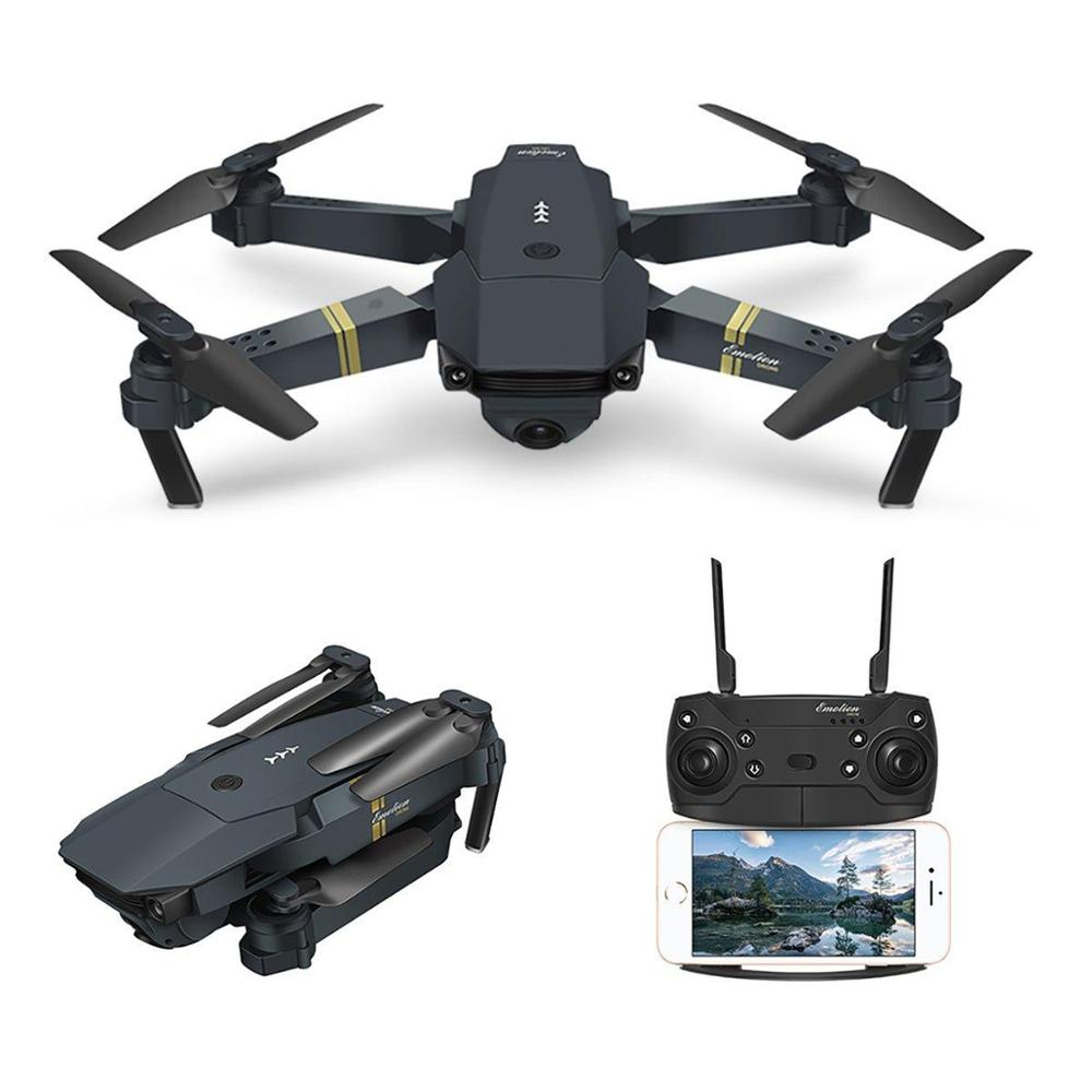 EACHINE E58 WiFi Pocket Drone Plegable con Mando