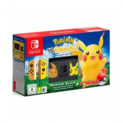 Nintendo Switch Videoconsola Pokemon Pikachu + Ball Edicion Limitada