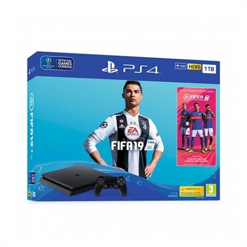 SONY PS4 PlayStation4 Slim 1TB + FIFA 19