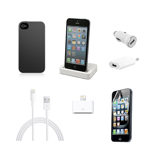 UNOTEC Pack Esencial de iPhone 5/5S/5C