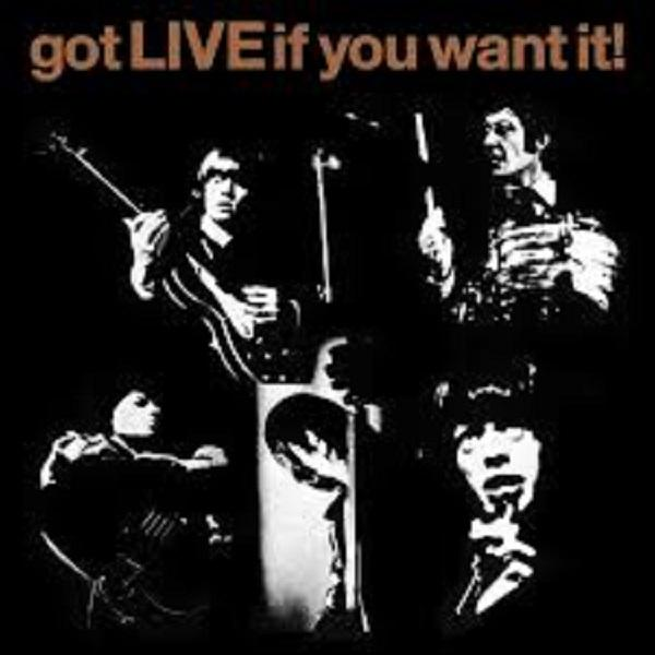 "Universal Music EP The Rolling Stones ""Got live if you want it"" +5"