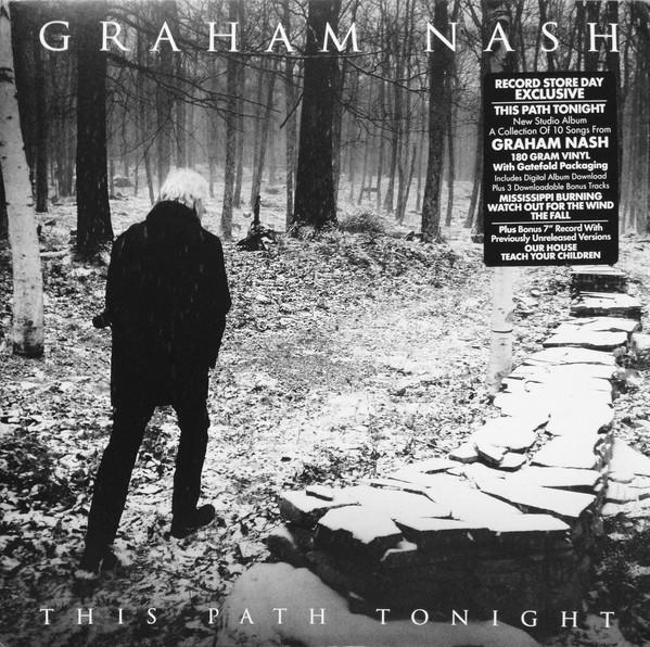 "LP Graham Nash ""This path tonight"" + 7"""