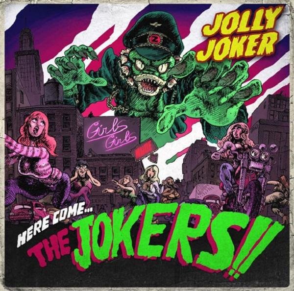 "The fish factory LP Jolly Joker ""Here come...The jokers!"