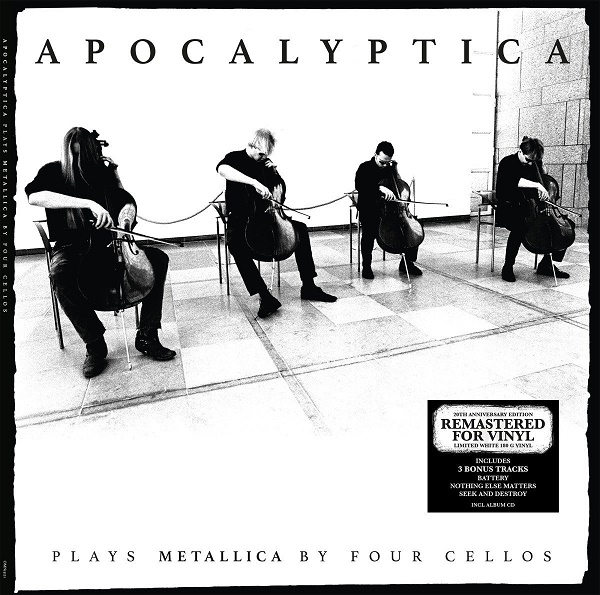 "Rough Trade LP Apocalyptica ""Plays Metallica by four cellos"" 2LP + CD"