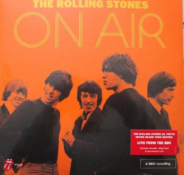 "Universal Music LP The Rolling Stones ""The Rolling Stones on Air"" 2LP"