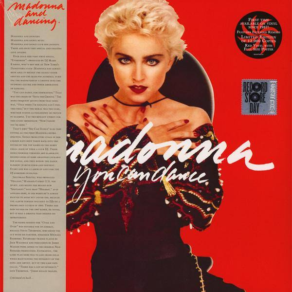 "LP Madonna ""You can dance"""
