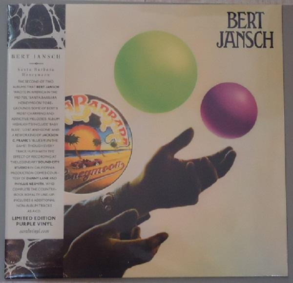 "LP BERT JANSCH ""SANTA BARBARA HONEYMOON"" Purple Vinyl"