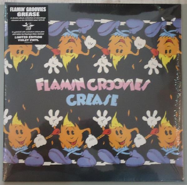 "2LP THE FLAMIN' GROOVIES ""GREASE"" VIOLET VINYL"