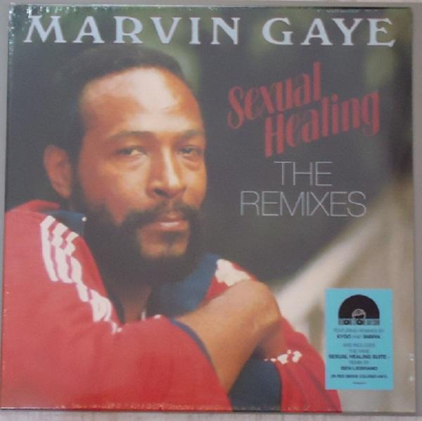 "LP MARVIN GAYE ""SEXUAL HEALING. THE REMIXES"""
