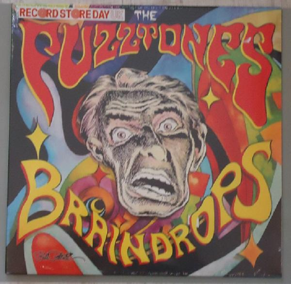 "LP THE FUZZTONES ""BRAINDROPS"" Yellow/Red Splatter  Vinyl"
