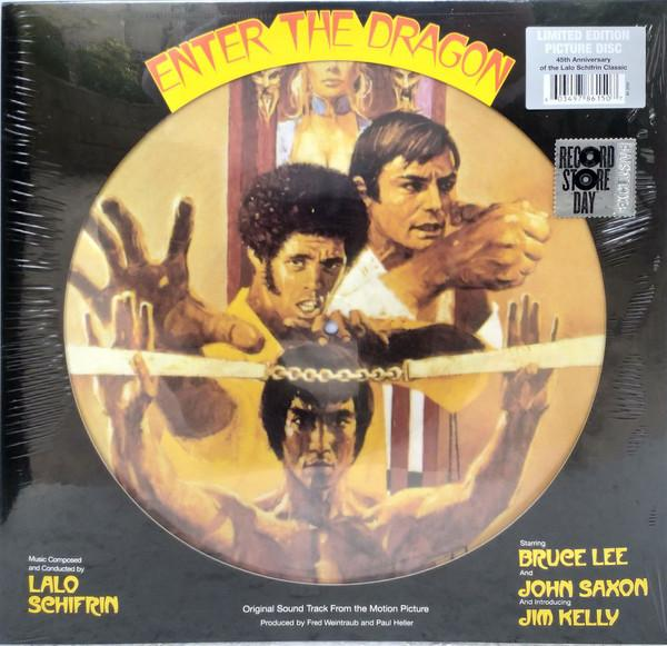 "Warner Music PICTURE DISC LALO SCHIFRIN ""ENTER THE DRAGON (OST)"""