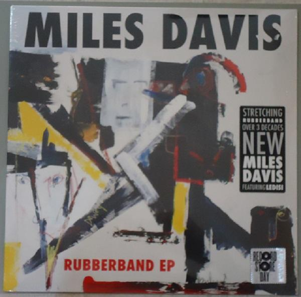 "Warner Music EP 12'' MILES DAVIS ""RUBBERBAND"""