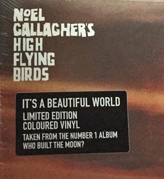 "SINGLE 12'' NOEL GALLAGHER'S HIGH FLYING BIRDS ""It's a beautiful world"""