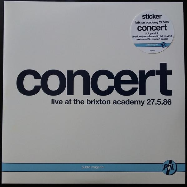 "Universal Music 2LP PUBLIC IMAGE LTD ""Concert: Live At The Brixton Academy 27.5.86 """
