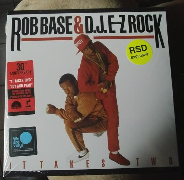 "Sony Music LP ROB BASE & D.J. E-Z ROCK ""IT TAKES TWO"" 30TH ANNIVERSARY"