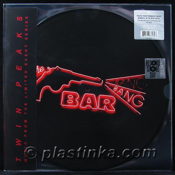"Rhino PICTURE DISC 2LP VARIOS ""TWIN PEAKS - MUSIC FROM THE LIMITED EVENT SERIES"""