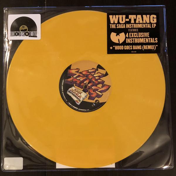 "EP 12'' WU-TANG CLAN ""THE SAGA INSTRUMENTAL EP"""