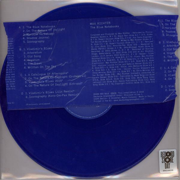 "2LP MAX RICHTER ""THE BLUE NOTEBOOKS"""
